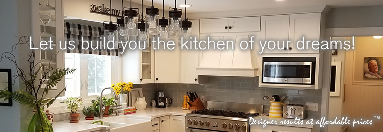 Let us build you the kitchen of your dreams